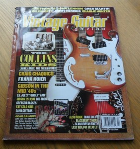 Vintage Guitar February 2013