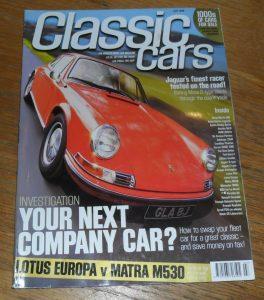 Classic Cars July 1999