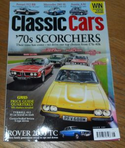 Classic Cars Magazine August 2015