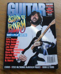 Guitar World October 1992