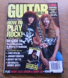 Guitar World December 1991