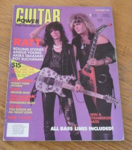 Guitar For The Practicing Musician December 1985