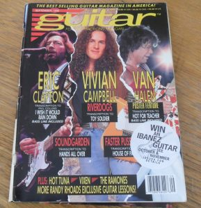 Guitar For The Practicing Musician April 1994
