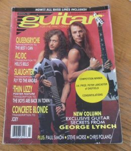 Guitar For The Practicing Musician March 1991