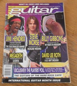 Guitar For The Practicing Musician April 1991