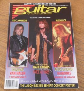 Guitar For The Practicing Musician November 1991