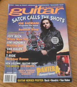 Guitar For The Practicing Musician August 1992