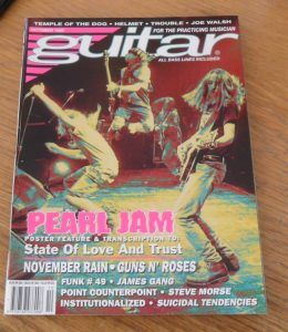 Guitar For The Practicing Musician October 1992