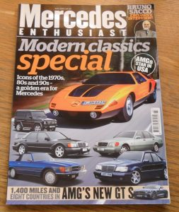 Mercedes Enthusiast Magazine July 2015