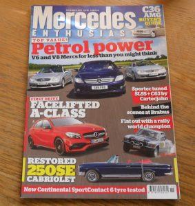 Mercedes Enthusiast Magazine November 2015