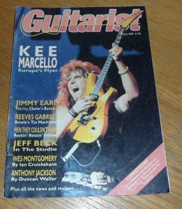 Guitarist Magazine July 1989