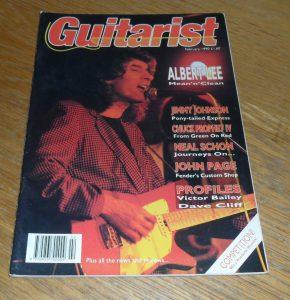 Guitarist Magazine February 1990