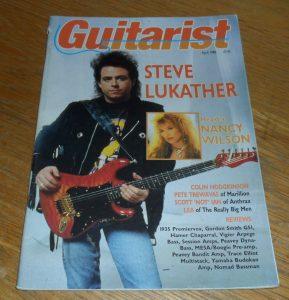 Guitarist Magazine April 1988