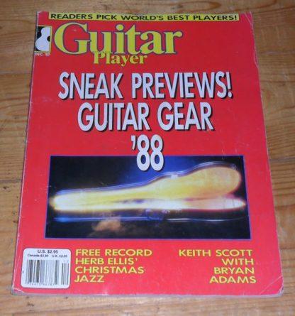 Guitar Player December 1987