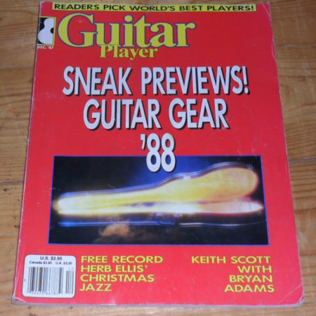 Guitar Player December 1987