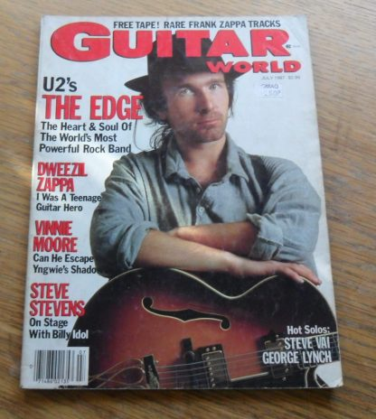 Guitar World July 1987