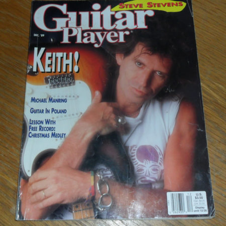 Guitar Player December 1989