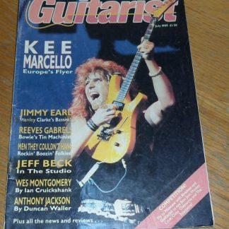 Guitarist Magazine July 1989