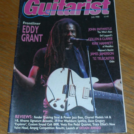 Guitarist Magazine July 1988