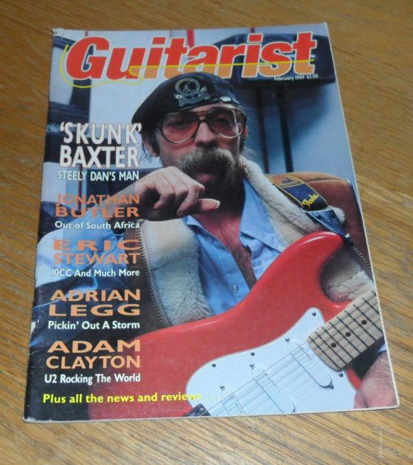 Guitarist Magazine February 1989