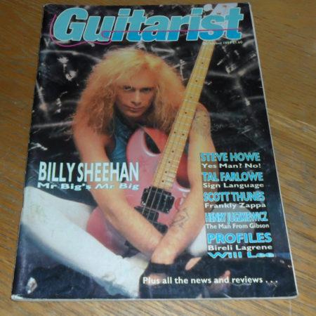 Guitarist Magazine December 1989