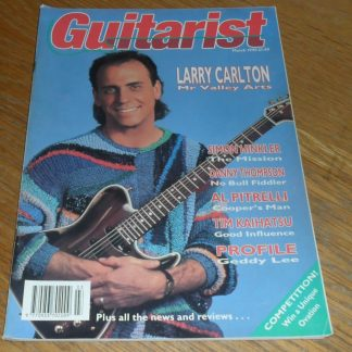 Guitarist Magazine March 1990