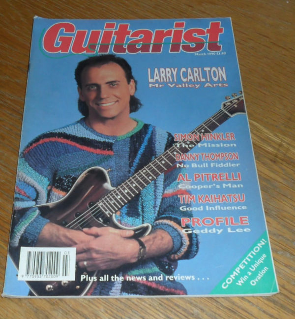 Guitarist Magazine March 1990