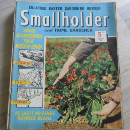 Smallholder and Home Gardener Magazine, April 1st 1961