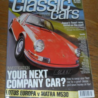 Classic Cars Magazine July 1999