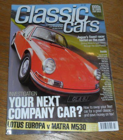 Classic Cars Magazine July 1999