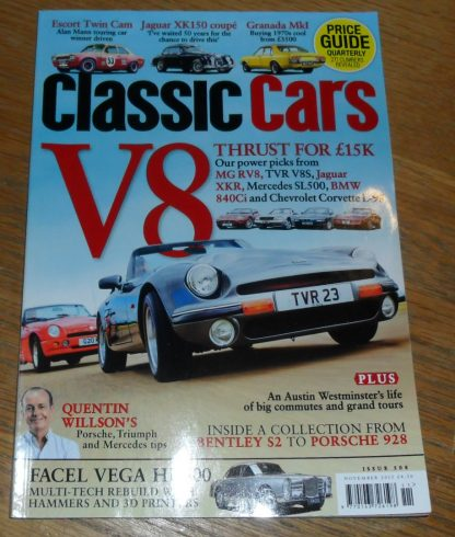 Classic Cars Magazine November 2015