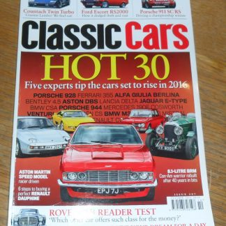 Classic Cars Magazine October 2015