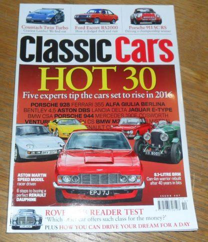 Classic Cars Magazine October 2015