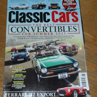 Classic Cars Magazine June 2015