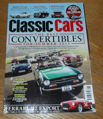 Classic Cars Magazine June 2015