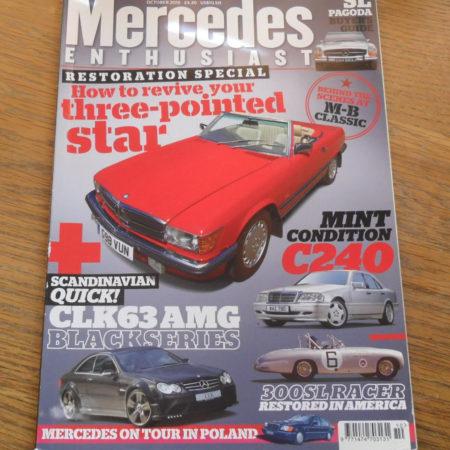 Mercedes Enthusiast Magazine October 2015