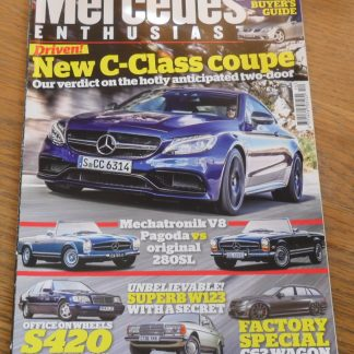 Mercedes Enthusiast Magazine December 2015