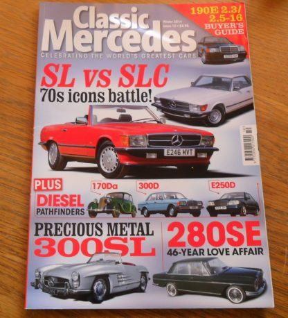 Classic Mercedes Magazine Issue 10 Winter 2014