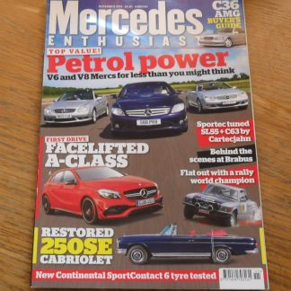 Mercedes Enthusiast Magazine November 2015