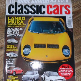 Classic Cars Magazine November 2012
