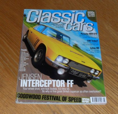 Classic Cars Magazine August 1999