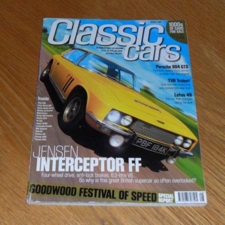 Classic Cars Magazine August 1999