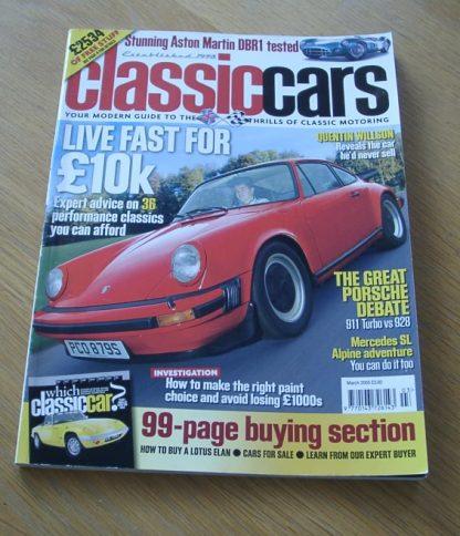 Classic Cars Magazine March 2005