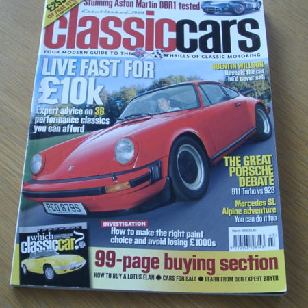 Classic Cars Magazine March 2005