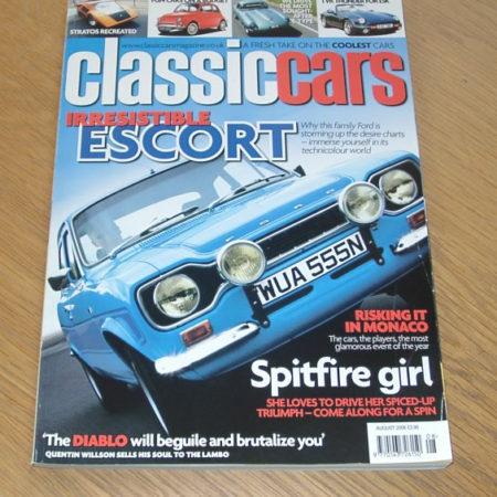 Classic Cars Magazine August 2006
