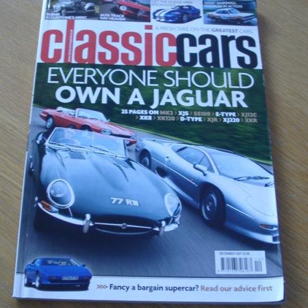 Classic Cars Magazine December 2007