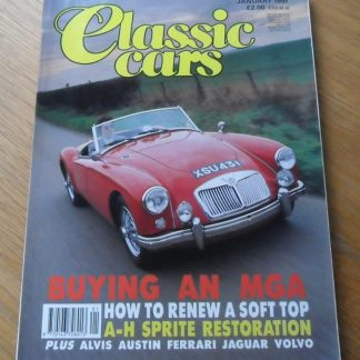 Classic Cars Magazine January 1991