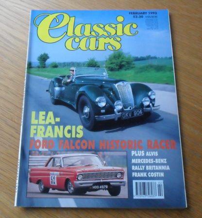 Classic Cars Magazine February 1993
