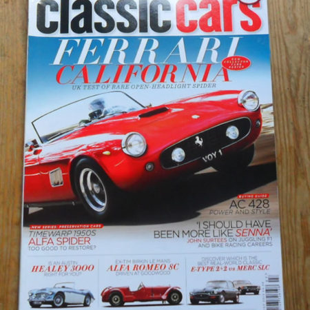 Classic Cars Magazine July 2012
