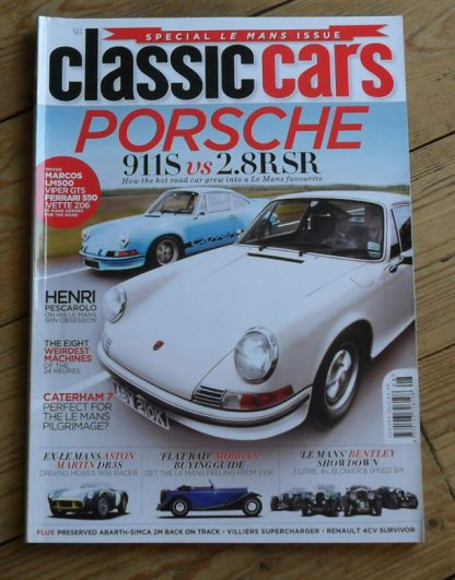 Classic Cars Magazine August 2012